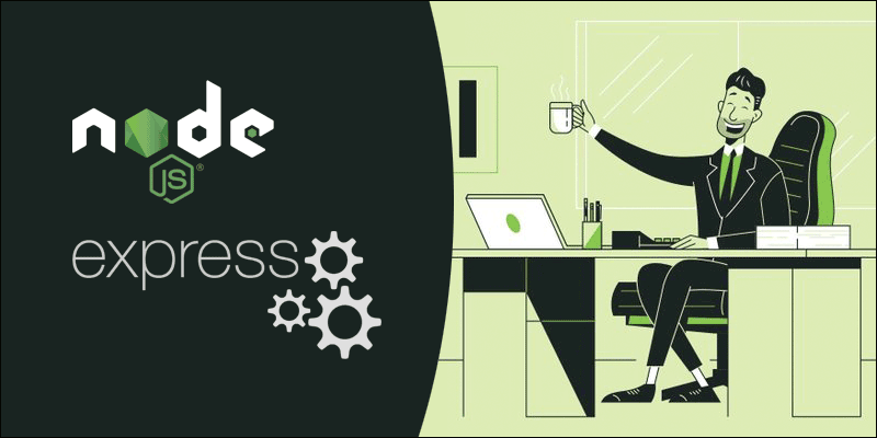 node.js express web server